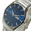 SKAGEN (scar gene) SKW6033 KLASSIK/ classical music D date metal belt blue dial men watch watch