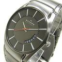 SKAGEN (scar gene) SKW6034 AKTIV/ active Titanium titanium date calendar metal belt Dai Brown Al men watch watch