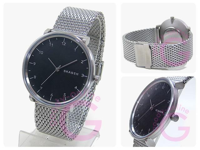 SKAGEN (スカーゲン) SKW6175 HALD/ハルド ステンレスメッシュベルト シルバー メンズウォッチ 腕時計