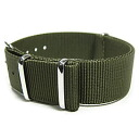 Substitute belt NATO strap for watches of the T2N Strap (T2N strap) AN18NT-4OL olive / khaki green NATO nylon belt high quality nylon strap 4RING military taste