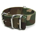 T2N Strap (strap T2N) CH22Z-5CAMO Camo / Camo pattern ZULU/NATO nylon belt regular size premiumnylons strap 5 RING military watches for replacement belt ZULU/NATO strap