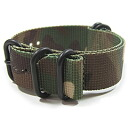 T2N Strap (strap T2N) CHZ-5PCAMO with, camouflage pattern, ZULU/NATO, nylon belt premiumnylons strap 5 RING PVD military watch replacement belts