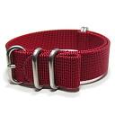 T2N Strap (T2N strap) PT20Z-5RD 5RING Bali stick nylon strap band bar Gandhi red substitute belt military watch business