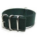 T2N Strap (T2N strap) PT22Z-5DGR 5RING Bali stick nylon strap band dark green substitute belt military watch business