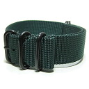 T2N Strap (strap T2N) PT24Z-5PDGR 5RING PVD processing ballistic nylon strap band dark green replacement belt for military watches
