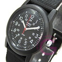 ( Timex ) TIMEX T18581 Camper / camper black military men's watch