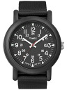 TIMEX (Timex) T2N364 Oversize Camper/ over size camper black military men watch watch
