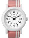 TIMEX ( Timex ) T2N367 Oversize Camper / オーバーサイズキャンパー pink military men's watch