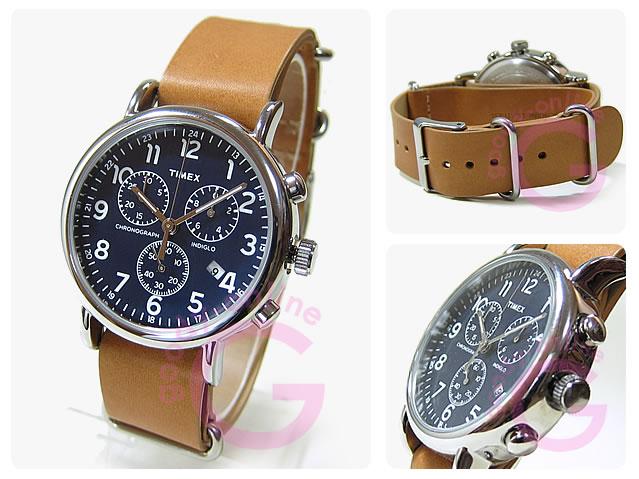 TIMEX (タイメックス) TW2P62300 Weekender/ウィークエンダー クロノグラフ セントラルパーク メンズウォッチ 腕時計