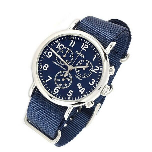 TIMEX (タイメックス) TW2P71300 Weekender/ウィークエンダー クロノグラフ セントラルパーク メンズウォッチ 腕時計