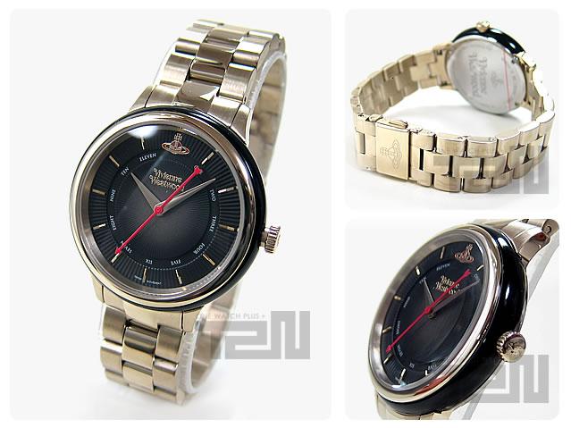Vivienne Westwood (ヴィヴィアン・ウエストウッド) VV158BKGD メタルベルト ゴールド×ブラック ビビアン レディースウォッチ 腕時計