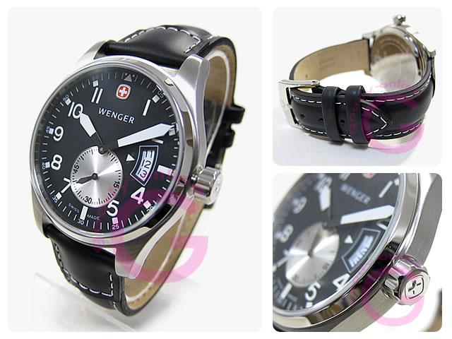 WENGER(ウェンガー)  72470 エアログラフ ヴィンテージ ミリタリー メンズウォッチ 腕時計