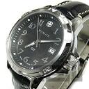 WENGER (Wenger) 78235 GST leather belt black military men's watch