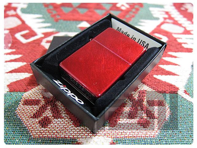 ZIPPO(ジッポー)21063 Candy Apple Red/キャンディーアップルレッド FULL SIZE ZIPPO LIGHTER/ジッポライター