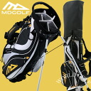 MDGOLF stands bag caddie bag black / white / yellow Europe NO1 brand