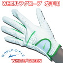 Glove WE-GL-05 MEN WHITE/GREEN