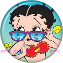 Canned Betty (Betty) ブープ betty boop batch Betty sunglasses♪