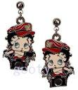 (Betty) Betty Boop betty boop biker Betty pattern Betty Boop earrings