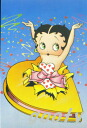 Betty Boop betty boop picture postcard postcard gift cute