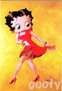 Betty Boop betty boop picture postcards cute postcards OOPS! Red dress