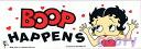 Betty boop sticker (sticker) bumper stickers? BOOP HAPPENS
