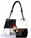 Betty case skin white chain (Betty) Betty Boop BETTY BOOP tote bag hat