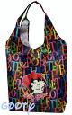 (Betty) Betty Boop BETTY BOOP tote bag eco bag print new logo black