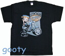 Betty (Betty) ブープ betty boop black T-shirt BOOP CHOPPERS bikie Betty rider Betty unisex L/XL
