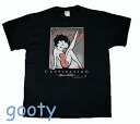 Betty (Betty ) Boop betty boop black T shirt CAPTIVATING BOOP leg up wink pattern unisex l/XL
