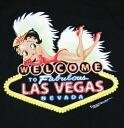 Betty Boop betty boop black T shirts WELCOME LAS VEGAS review unisex M/L/XL