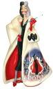 101 Dalmatians-Chan Cruella Devil ceramic figure 101 Dalmations Cruella de Ville