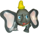 Dumbo-DUMBO 60s vintage rubber doll