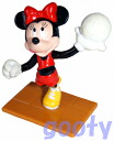 Minnie mouse Minnie Mouse PVC volleyball PVC 90 dead stock rubber doll