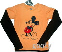 Pay cut is print Mickey Mouse long sleeved T shatsdisney