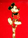 Mickey Mouse vintage cloisonne birthday spoon