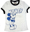 Mickey Mouse Mickey Mouse grey T shirt
