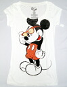 Mickey Mouse mickey mouse tee short sleeve T shirt (PITA T ) white sunglasses pattern
