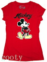 Mickey Mouse mickey mouse tee short sleeve T shirt (PITA T ) red rubber print