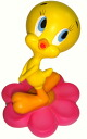 Tweety TWEETY figurine figure flower A