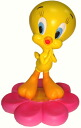Tweety TWEETY figurine figure flower B bad per sale