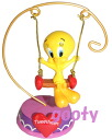 Tweety tweety resin figure Blanco tweets heart figurine Tweetheart Figurine