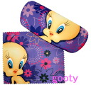 TWEETY Tweety glasses sunglasses case glasses wipe with case! Tweety floral
