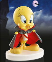 Tweety tweety pottery Figure 24 K color Tweety Halloween Vampire Count TWEETY