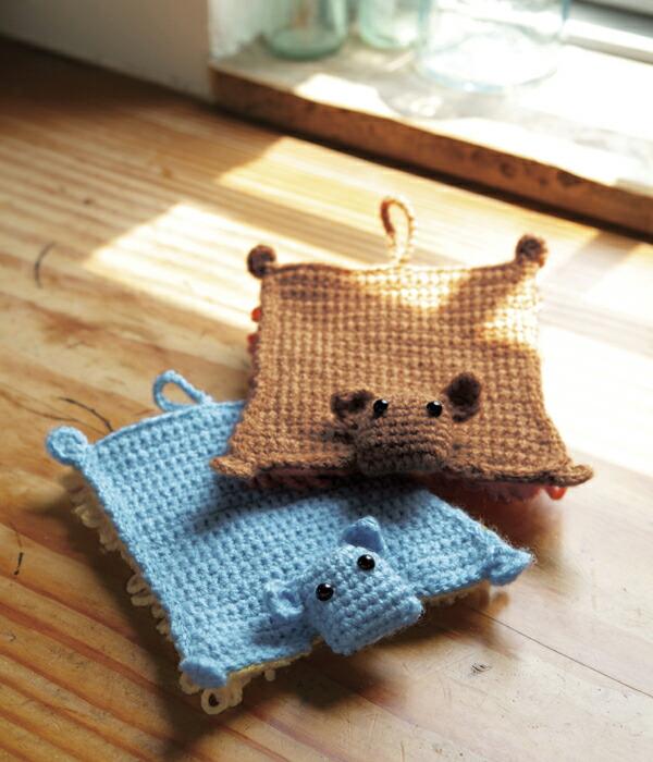編んで楽しい♪使って便利!手作りモップ♥ハンド編