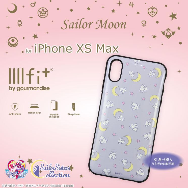 美少女戦士セーラームーン iPhoneXS Max対応IIIIfitケース