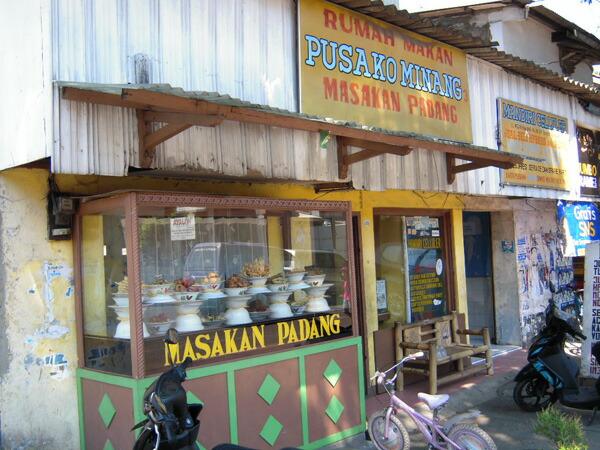 ジャカルタの街の様子 レストラン