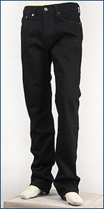 ��Х��� Levis 505 ���ȥ졼�� USA�饤���ǥ� 13.38oz.�ǥ˥� �֥�å� Levi's 505 Straight Jeans 00505-0260 ������
