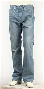 ��Х��� Levi's 505 �쥮��顼���ȥ졼�� ������ߥ륺 12.4oz.�ǥ˥� �֥?����֥롼�� Levi's Red Tab Classic 00505-0967 ������