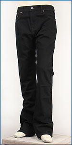 リーバイス Levis 517 ブーツカット USAラインモデル 13.38oz.デニム ブラック Levi's 517 Boot Cut Jeans 00517-0260 ジーンズ