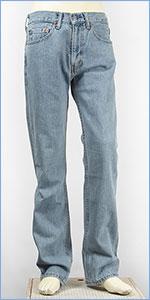 リーバイス Levis 505 レギュラーストレート USAラインモデル 14.5oz.デニム ライトストーンウォッシュ Levi's 505 Straight Jeans 00505-4834 ジーンズ